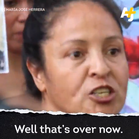 Mexican mother whose 19-year-old daughter was killed in Mexico delivers powerful speech as she opposes femicide (video)