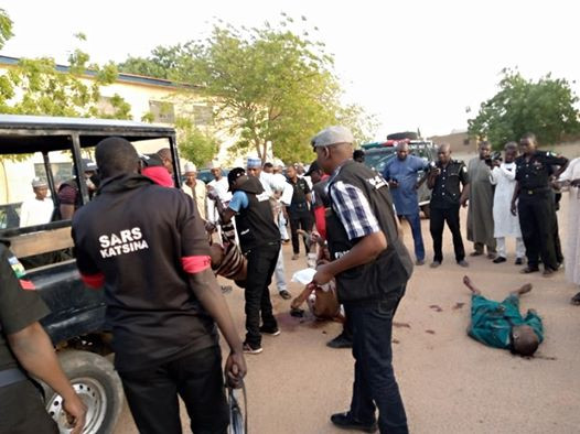 Police gun down 5 notorious criminals in Katsina (graphic photos)