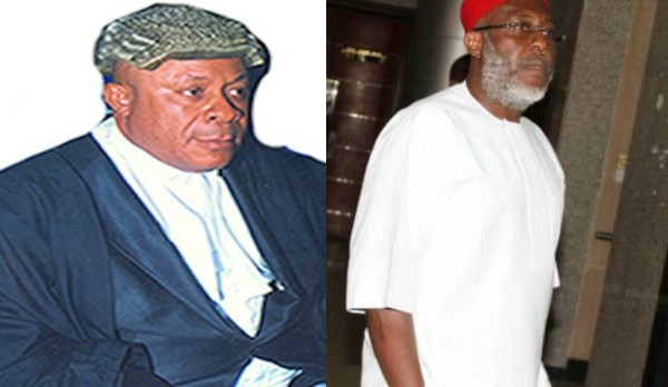 God did not answer my prayer on Olisa Metuh - Justice Okon Abang reveals after sentencing his course mate at Nigerian Law School to 7 years in prison