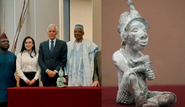 Mexico returns ancient Nigerian sculpture (photos)