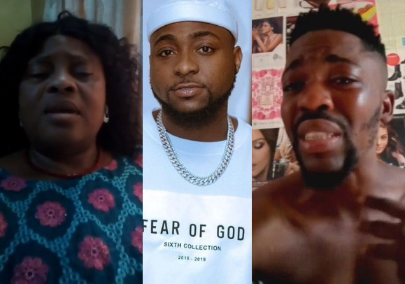 I will never forgive you for disgracing my son-  mother of journalist allegedly assaulted by Davido at the airport speaks (video)
