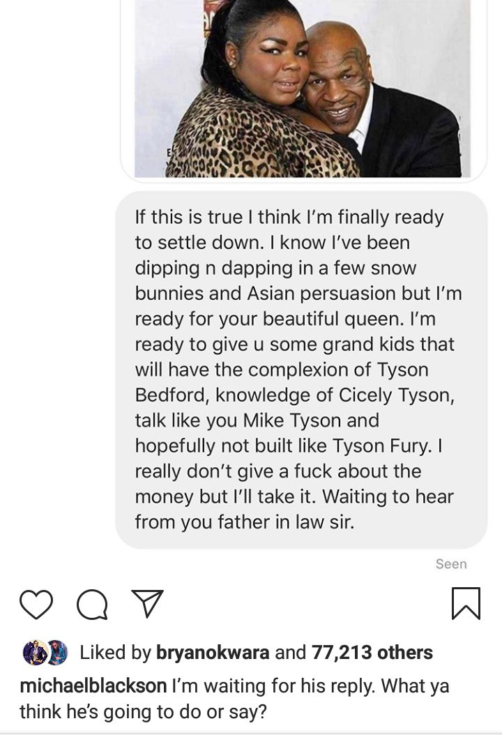 See Mike Tyson