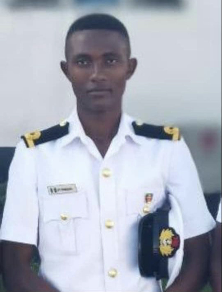 Naval officer declared missing (photos)