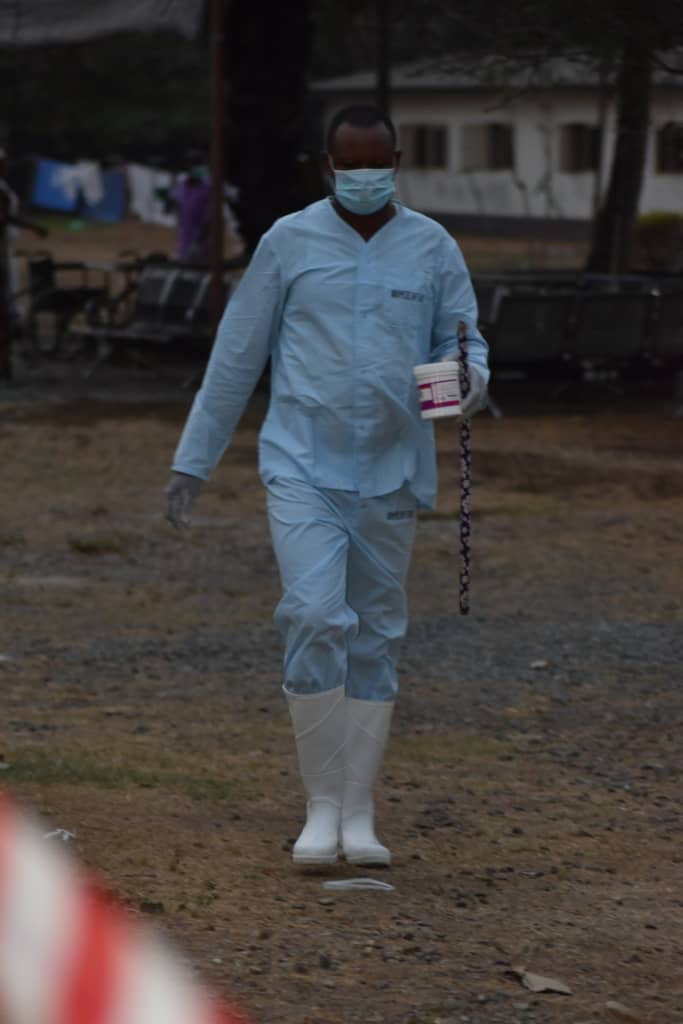 Photo of the Italian man diagnosed with Coronavirus
