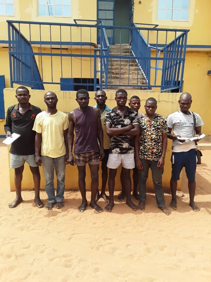 8 arrested in Benue for illegal tax activity