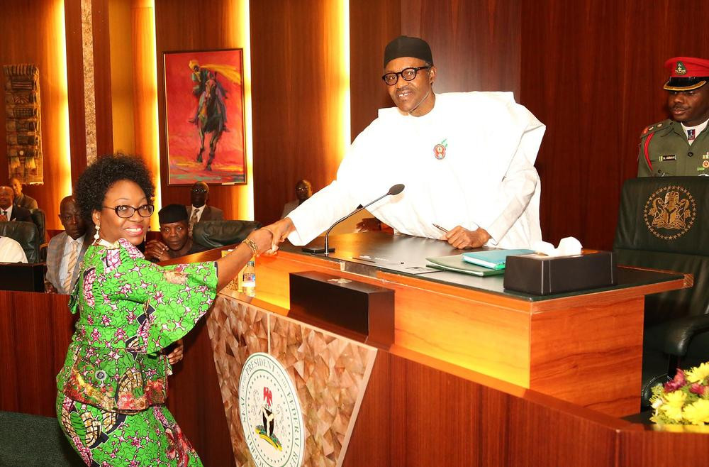 Buhari approves retirement of head of service Winifred Oyo-Ita, insists probe will continue