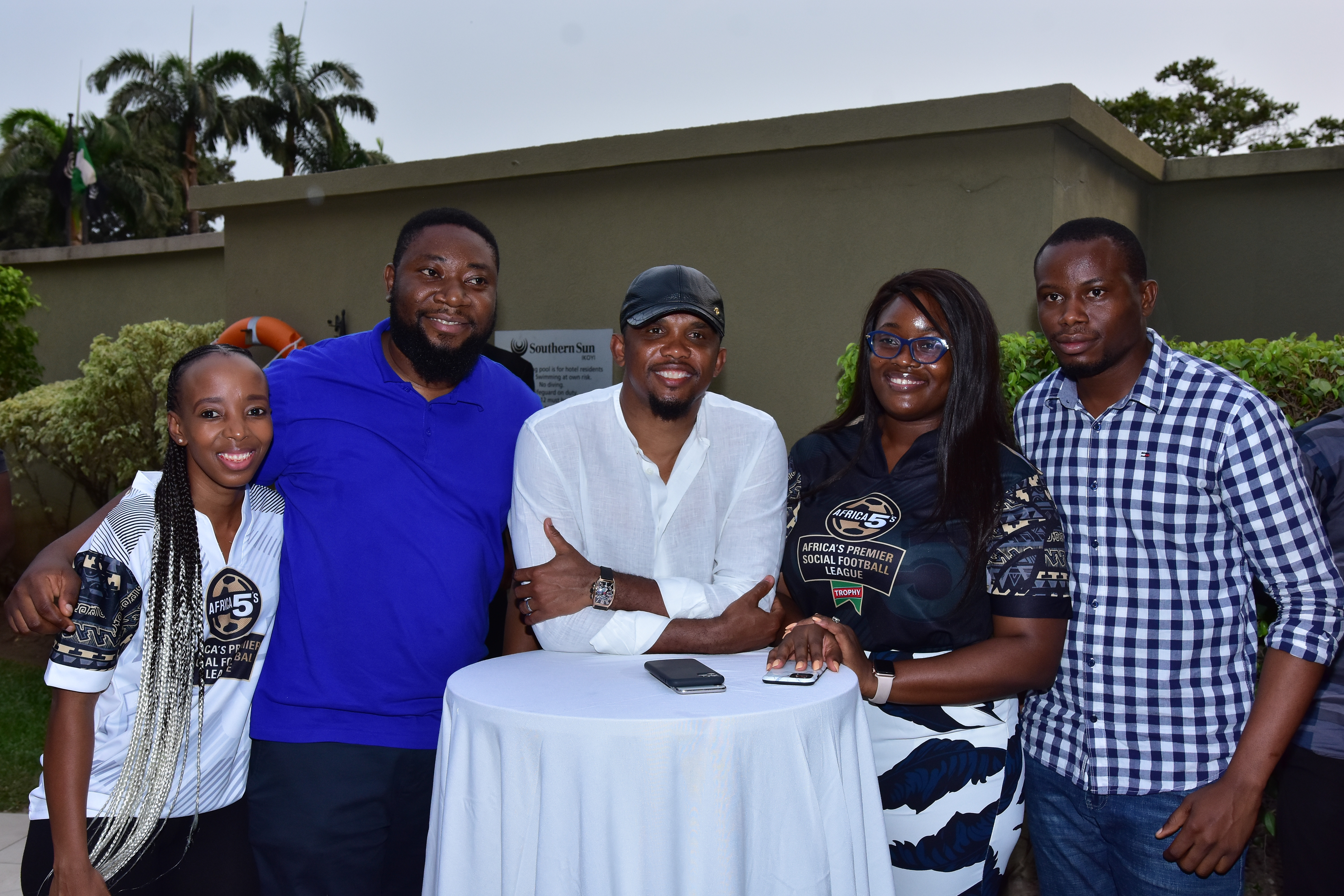 Trophy Fetes Eto?o, launches Castle Africa 5s
