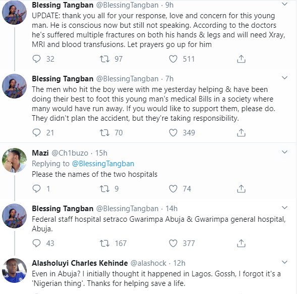 Nigerian lady shares her sad experience with different hospitals where she rushed a dying man to in Abuja