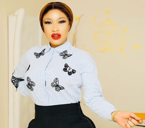 I am as straight as a ruler- Tonto Dikeh addresses rumors she might be a lesbian