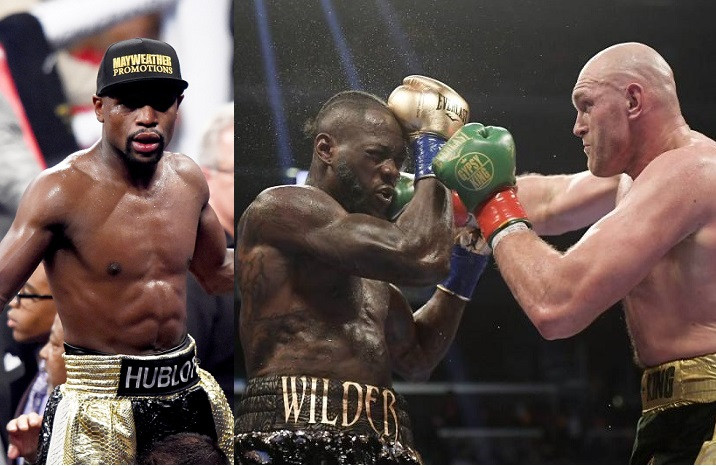 Floyd Mayweather offers to train Deontay Wilder to help him beat Tyson Fury in their trilogy fight?