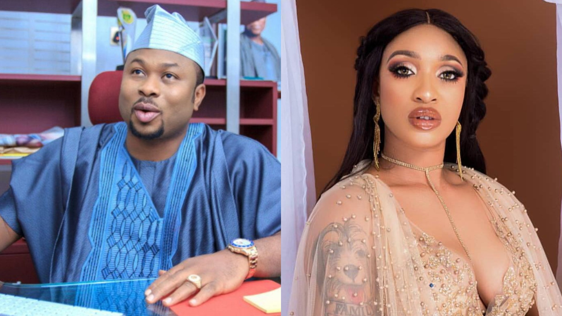 Mr Bisexual what's up' - Tonto Dikeh replies ex-husband, Olakunle ...