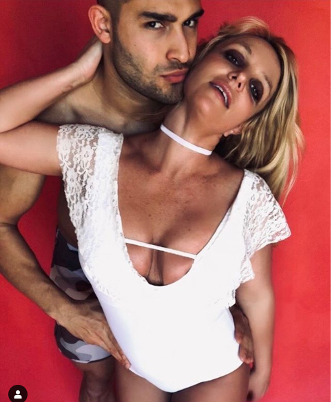 Britney Spears celebrates her boyfriend Sam Asghari