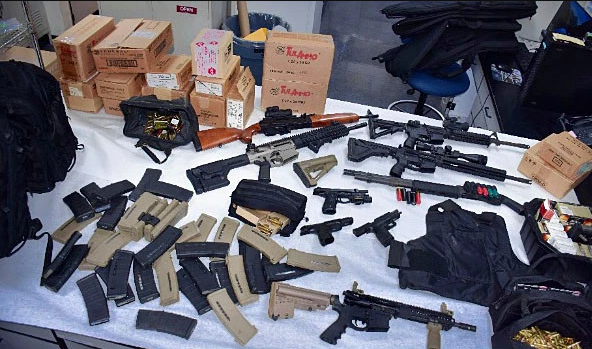 20,000 rounds of ammo and weapons cache found in home of UPS worker who threatened a mass shooting