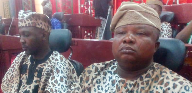 Oyo lawmakers pass Amotekun bill wearing leopard-print outfits (photos)