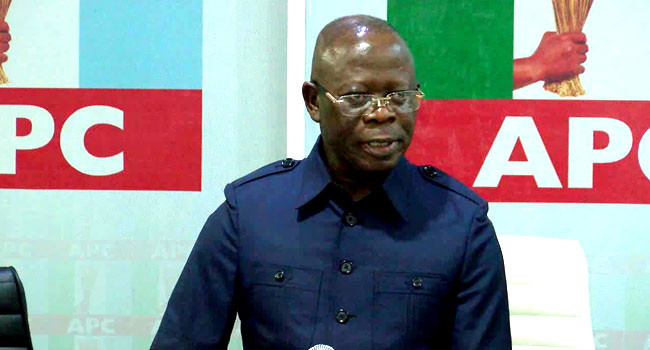 Those plotting to remove me, see me as a threat to their plan in 2023 - Oshiomhole