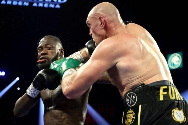 Tyson Fury finally responds to Deontay Wilder