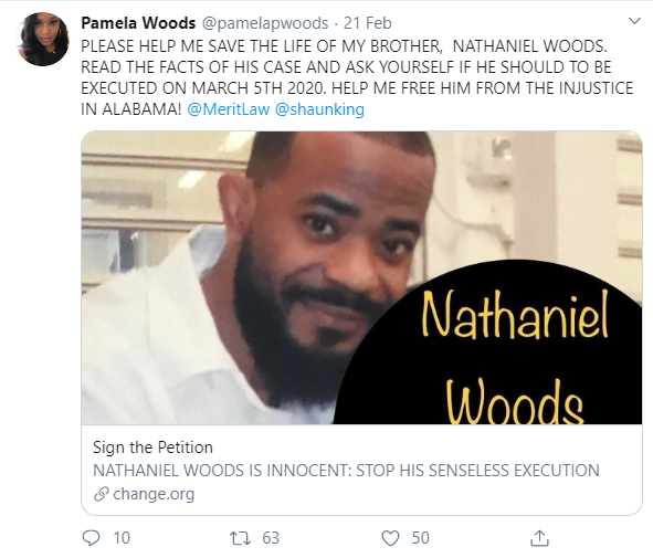 He died for a crime another man confessed to - Kim Kardashian mourns death row inmate Nathaniel Woods as he is executed despite attempts to save him