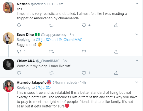 Nigerian lady recounts how she became sad and depressed after she moved from Nigeria to the US