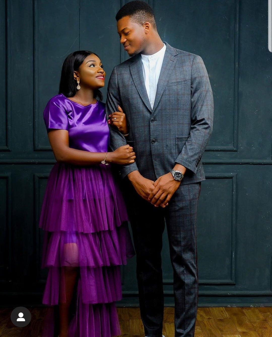 Couple who started dating from SS1get engaged; see their pre-wedding photos