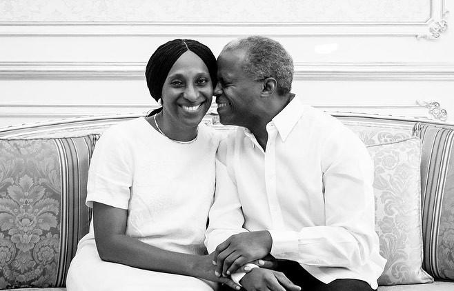 """My special treasure"" Dolapo Osinbajo celebrates her hubby, VP Yemi Osinbajo as he turns 63 today"