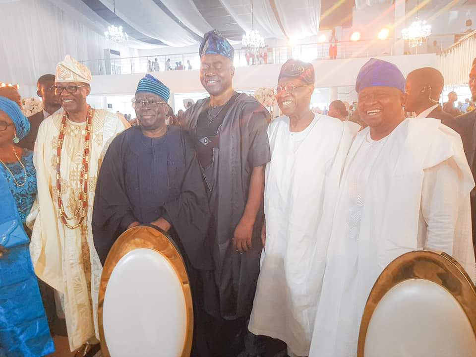 Photos from the wedding of son of ex-Ogun governor, Gbenga Daniel