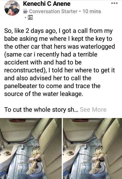 Nigerian man discovers