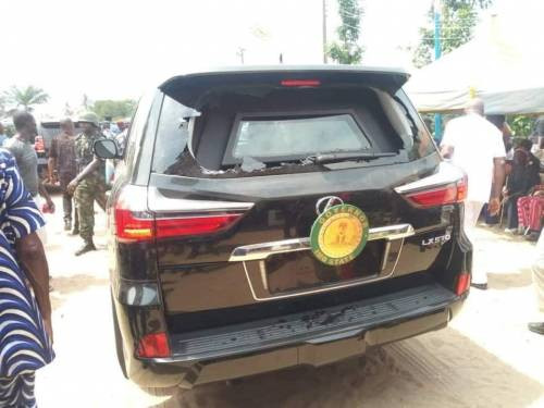 Governor Hope Uzodinma attacked in Imo State (photos)