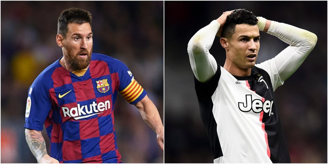 Lionel Messi overtakes Cristiano Ronaldo as the all-time record goalscorer in Europe