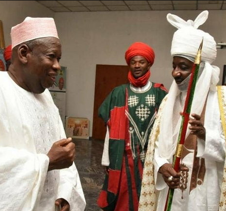 Pandemonium at Kano State House of Assembly as lawmakers fight over the lingering crisis between Sanusi and Ganduje