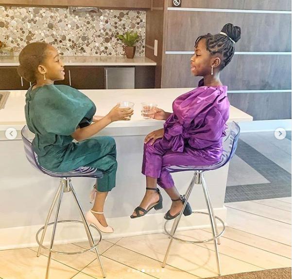 Photos: Two young Nigerian girls recreate?Lupita?Nyong