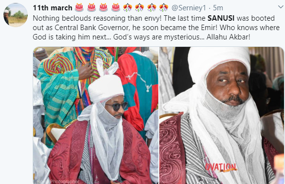 Dele Momodu, Shehu Sani, others react to the removal of Sanusi as Emir of Kano