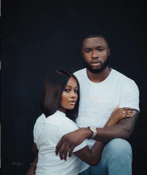 Beautiful pre-wedding photos of actor Emmanuel Ikubese and his fiancee Anita Adetoye