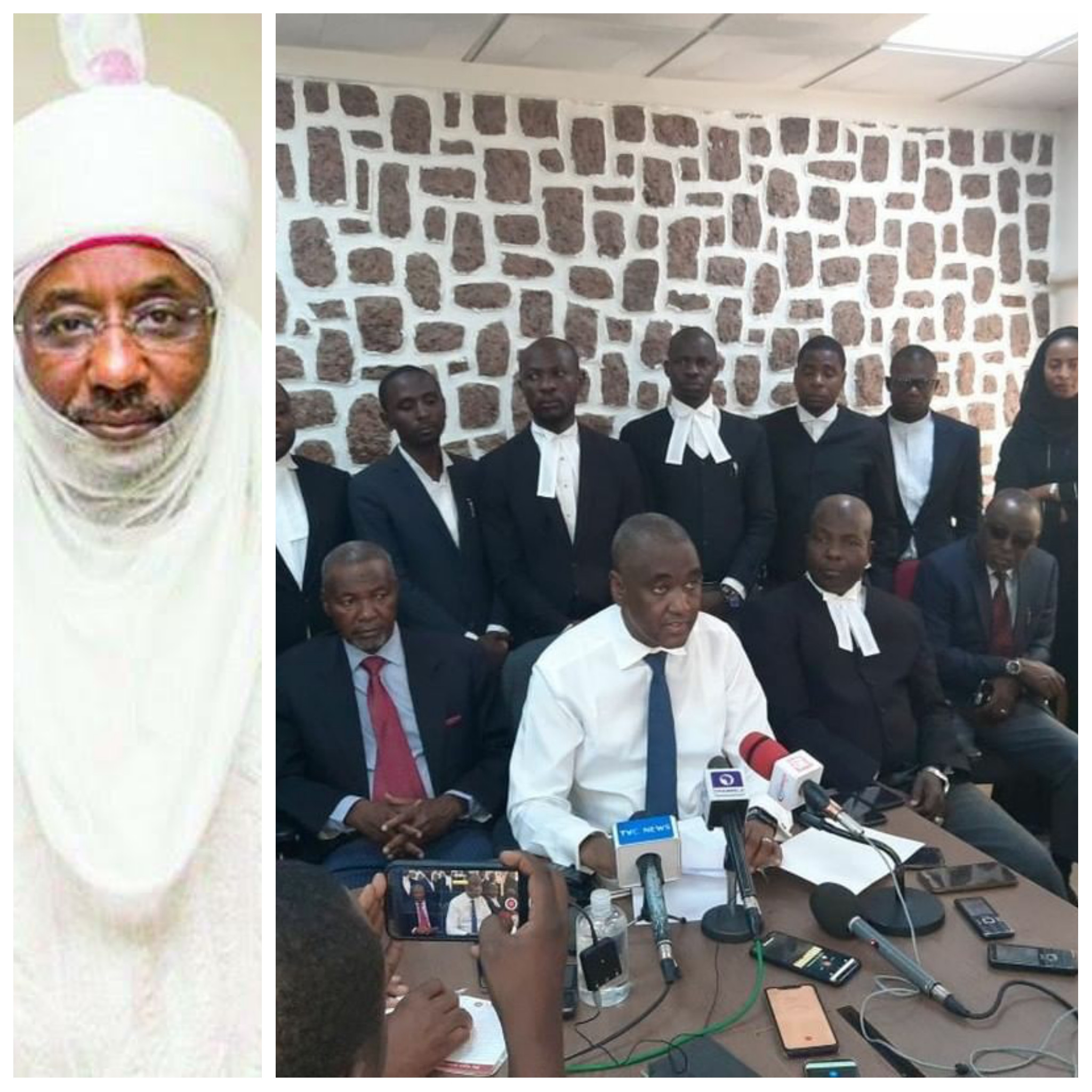 Sanusi heads to court to challenge his banishment