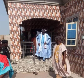 Update: See photos of the two-bedroom apartment Sanusi will now reside in