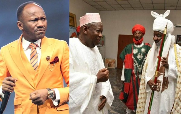 Disrespecting a governor is not a criminal offence - Apostle Suleman questions Sanusi