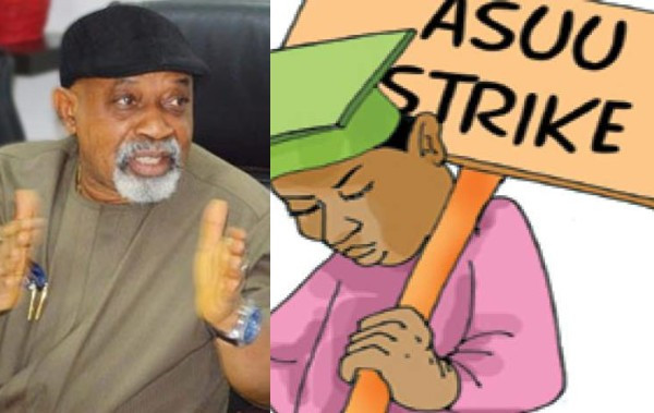 ASUU strike is illegal ? FG insists on ?no work, no pay?