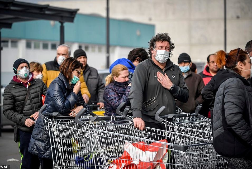 Intensive care units in Italy are advised to stop treating the elderly and focus on those with better chances of survival as coronavirus death toll climbs by 31% in 24 hours