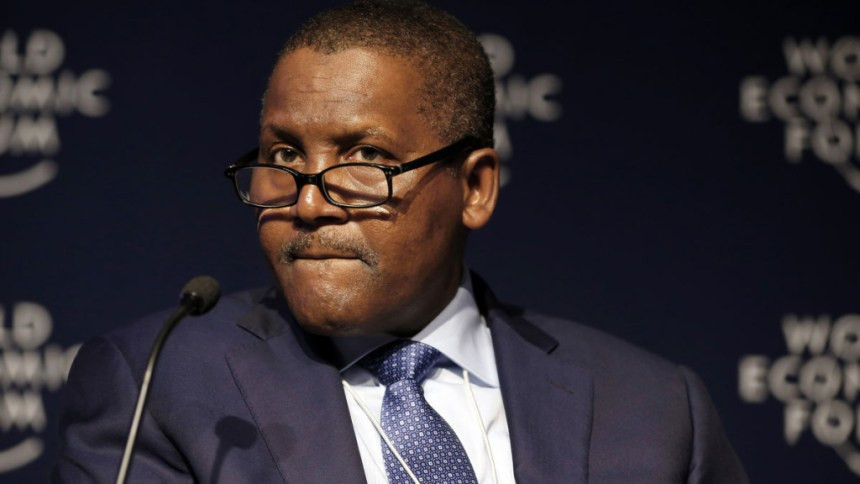Dangote loses N240 billion in five hours due to coronavirus