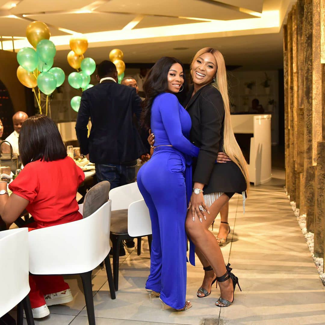 Photos: Toke Makinwa, AY Makun, E-Money, Tana Adelana, Osas Ighodaro, others at Lilian Esoro