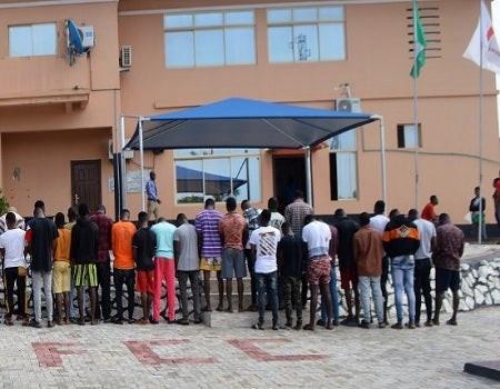 48 suspected internet fraudsters arrested by EFCC in Ogun State
