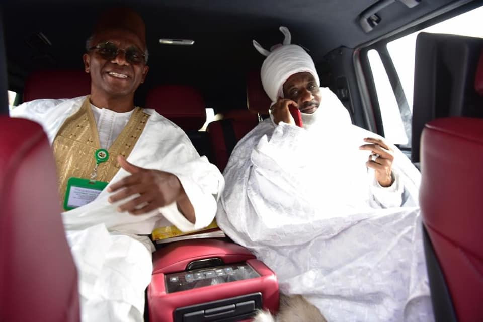 Sanusi can live anywhere including Kano ?  Governor El-Rufai confirms