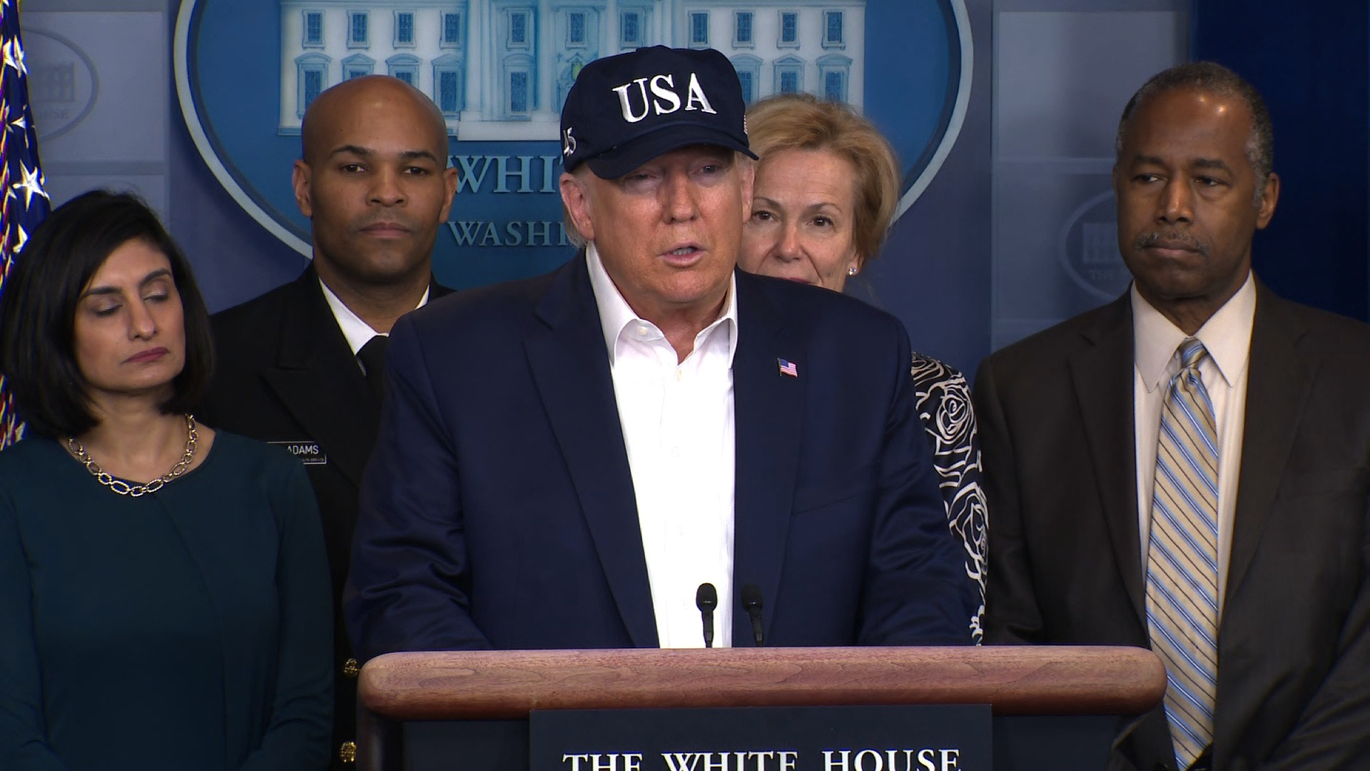 President Donald Trump tested for coronavirus