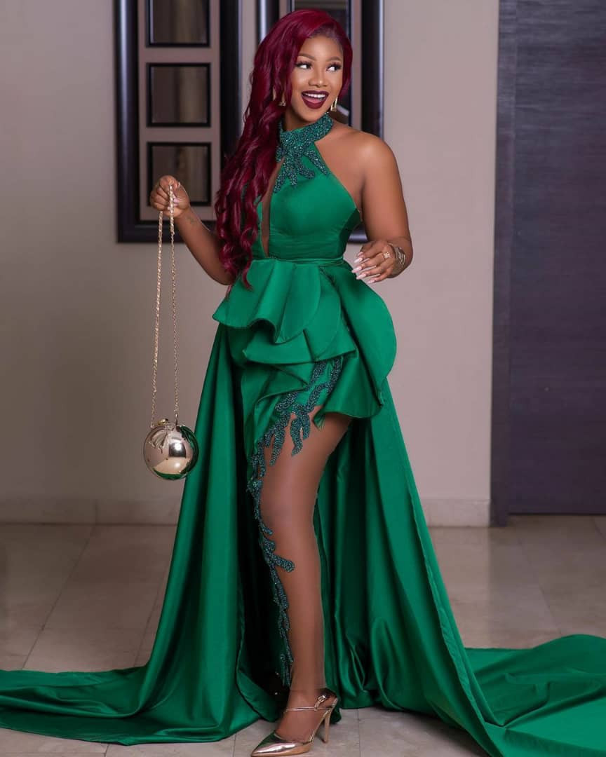 Toke Makinwa, Uti Nwachukwu, Ebuka, Adesua and Banky W, Sola Sobowale, others at the 2020 AMVCAs