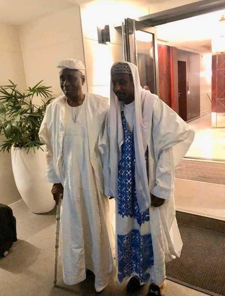 Oba of Lagos visits deposed Emir of Kano, Sanusi Lamido Sanusi (photos)