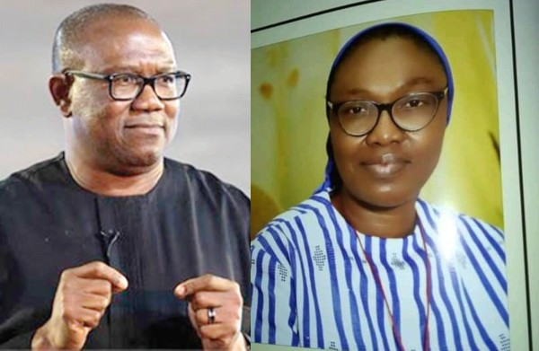 Image result for Peter Obi reacts to death of Reverend Sister/Principal of Bethlehem Girls College in Abule Ado gas explosion