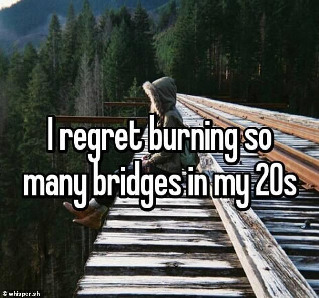 People from around the World reveal the biggest regrets from their twenties