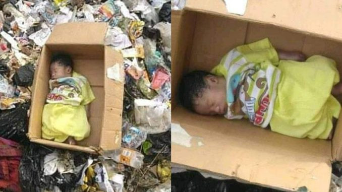Body of well-clothed newborn baby found in refuse dump in Calabar