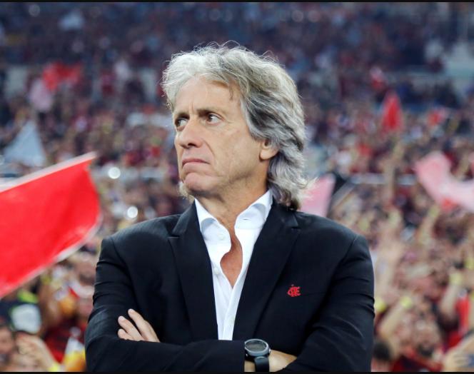 Flamengo manager Jorge Jesus tests positive for coronavirus