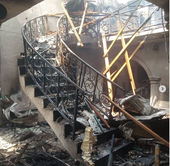 I lost my beauty complex, house and cars in Abule Ado gas explosion - Actress Nkiru Umeh