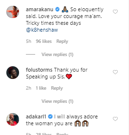 """You lack self respect"" Kate Henshaw hits back at Emeka Rollas after he went on TV to defend the appointment of Elisha Abbo as the patron of AGN"